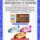 Adobe Photoshop 7, CS2, C3 & CS4 Plugin Filters Brushes & More!