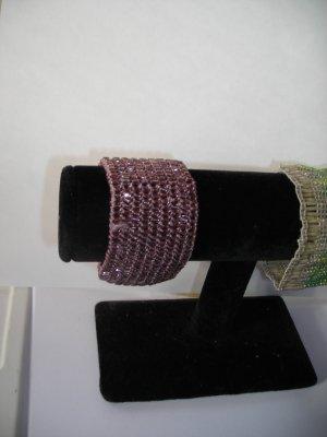 Mauve Bracelet Velcrow Closer