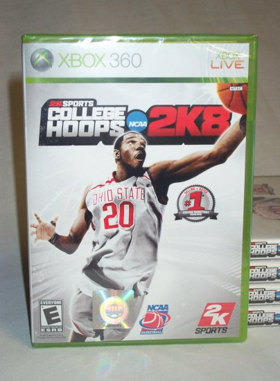COLLEGE HOOPS 2K8 - XBOX 360 - BRAND NEW FACTORY SEALED