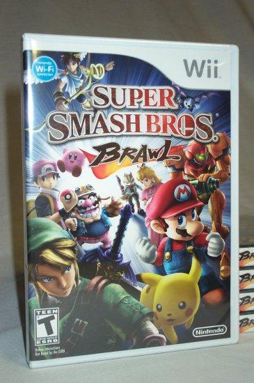 SUPER SMASH BROS BRAWL - NINTENDO Wii - BRAND NEW FACTORY SEALED