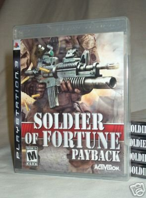 Soldier of Fortune: Payback - BRAND NEW FACTORY SEALED Playstation 3 PS3