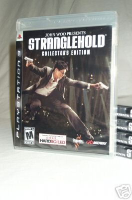 Stranglehold Collector's Edition - BRAND NEW FACTORY SEALED Playstation 3 PS3