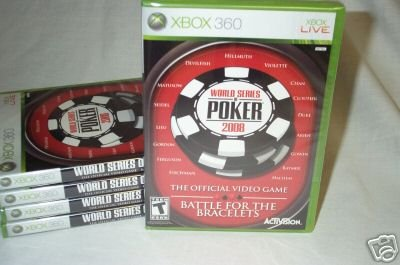 World Series of Poker 2008 - Brand New Factory Sealed Xbox 360 IN STOCK