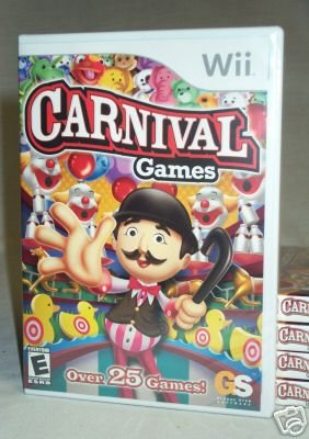 Carnival Games - IN STOCK Nintendo Wii BRAND NEW FACTORY SEALED