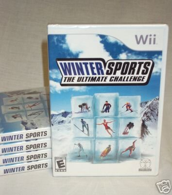 Winter Sports: The Ultimate Challenge - BRAND NEW FACTORY SEALED Wii IN STOCK