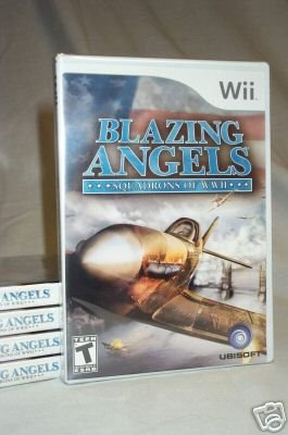 Blazing Angels: Squadrons of WWII - NINTENDO Wii - BRAND NEW FACTORY SEALED