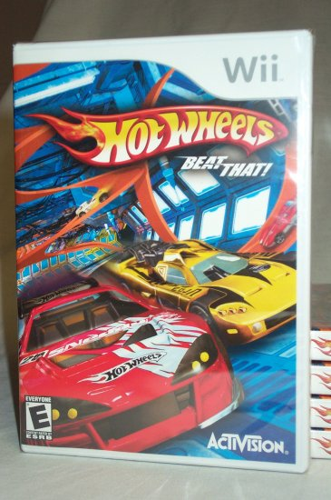 HOT WHEELS: BEAT THAT - NINTENDO Wii- BRAND NEW FACTORY SEALED