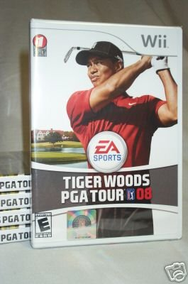TIGER WOODS PGA TOUR 08 - NINTENDO Wii - BRAND NEW FACTORY SEALED