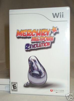 MERCURY MELTDOWN REVOLUTION - NINTENDO Wii - BRAND NEW FACTORY SEALED