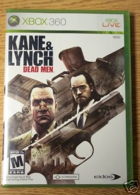 KANE & LYNCH: DEAD MEN - XBOX 360 - BRAND NEW FACTORY SEALED