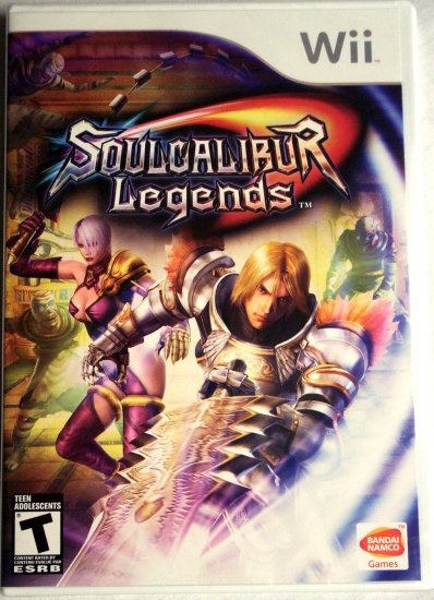 SOUL CALIBUR LEGENDS - NINTENDO Wii - BRAND NEW FACTORY SEALED