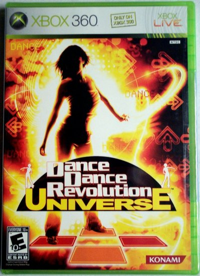 DANCE DANCE REVOLUTION UNIVERSE - XBOX 360 - BRAND NEW FACTORY SEALED