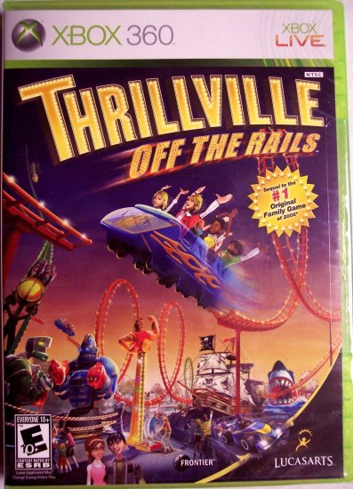 THRILLVILLE: OFF THE RAILS - XBOX 360 - BRAND NEW FACTORY SEALED
