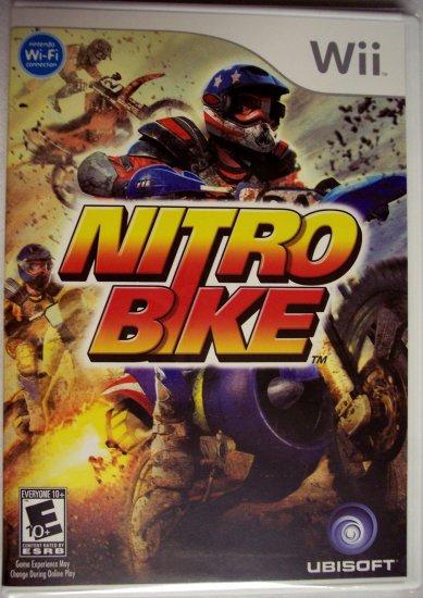 NITROBIKE - NINTENDO Wii - BRAND NEW FACTORY SEALED