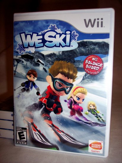 WE SKI - NINTENDO Wii - BRAND NEW FACTORY SEALED