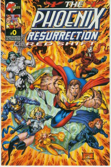 MALIBU/ULTRAVERSE COMICS PHOENIX RESURRECTION LIMITED EDITION