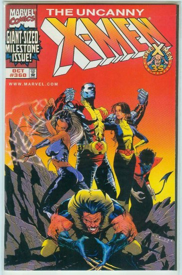 UNCANNY X-MEN #360 DYNAMIC FORCES EXCLUSIVE COVER