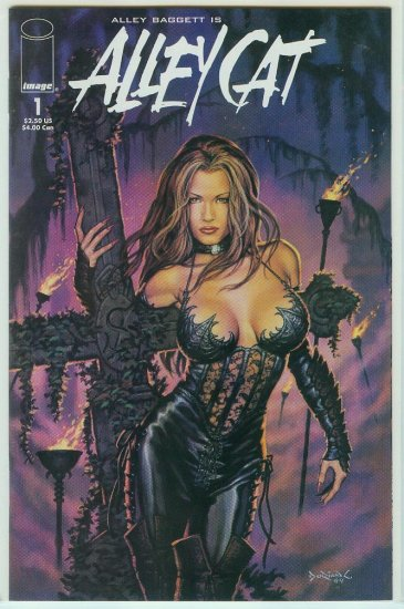 Image Comics Alley Cat #1 Variant/Limited Cover 1999
