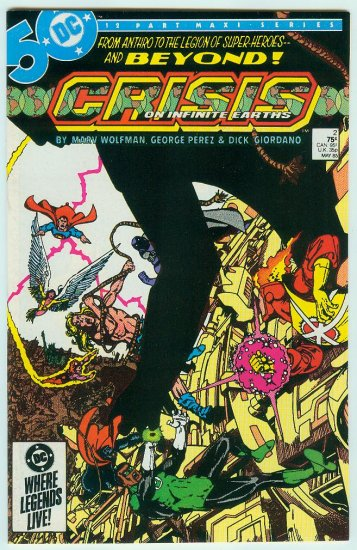 CRISIS ON INFINITE EARTHS #2 (1985)