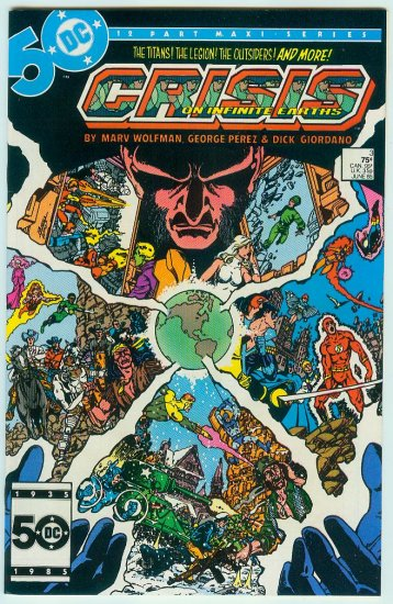 CRISIS ON INFINITE EARTHS #3 (1985)