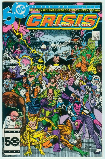 CRISIS ON INFINITE EARTHS #9 (1985)