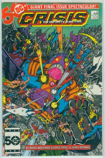 CRISIS ON INFINITE EARTHS #12 (1986)