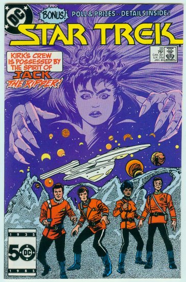 Star Trek #22 (FREE SHIPPING)