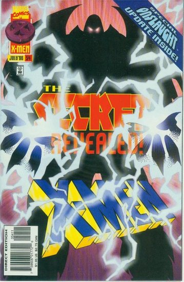 MARVEL COMICS X-MEN #54 1996 (ONSLAUGHT)