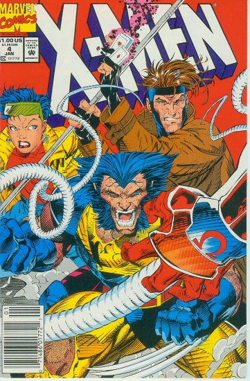 MARVEL COMICS X-MEN #4 1992