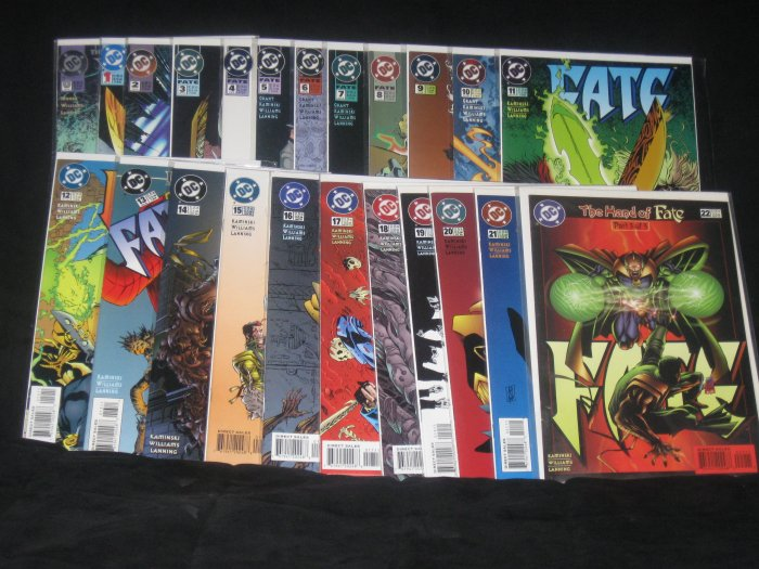 DC COMICS Dr. FATE #0-#22 1994-96 COMPLETE SERIES (FREE SHIPPING USA ONLY)