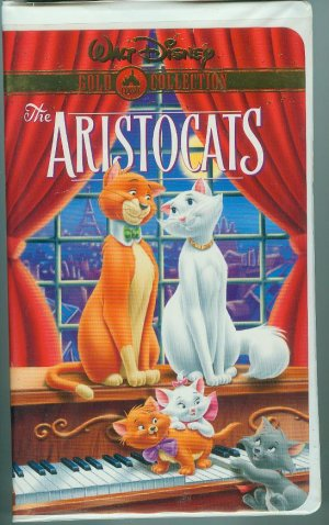 DISNEYS THE ARISTOCATS VHS MOVIE 2000