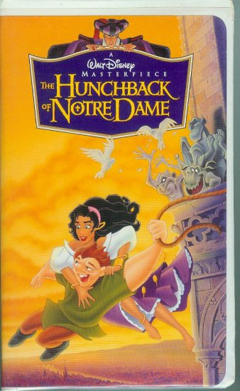 disneys the hunchback of notre dame vhs 1997