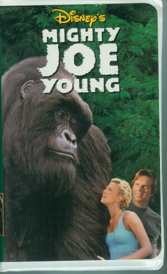 DISNEYS Mighty Joe Young (VHS, 1999)