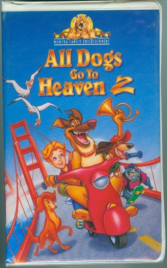All Dogs Go to Heaven 2 (VHS, 1996)