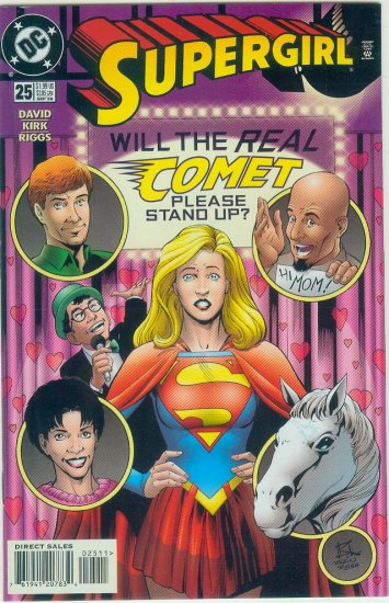 DC COMICS SUPERGIRL #25 (1998)