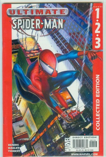 ULTIMATE SPIDER-MAN COLLECTED EDITION #1-3 (2002)