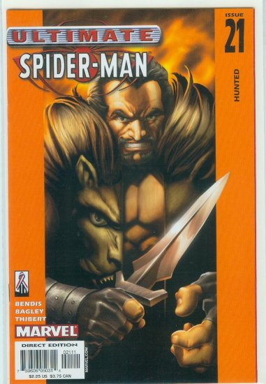 MARVEL COMICS ULTIMATE  SPIDER-MAN #21 (2002)