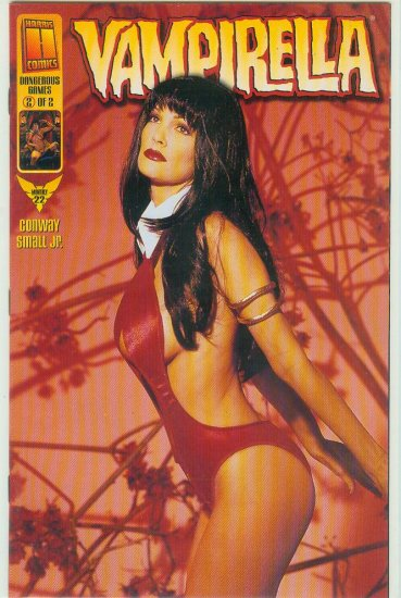 HARRIS COMICS VAMPIRELLA #22c VARIANT PHOTO COVER (1999)