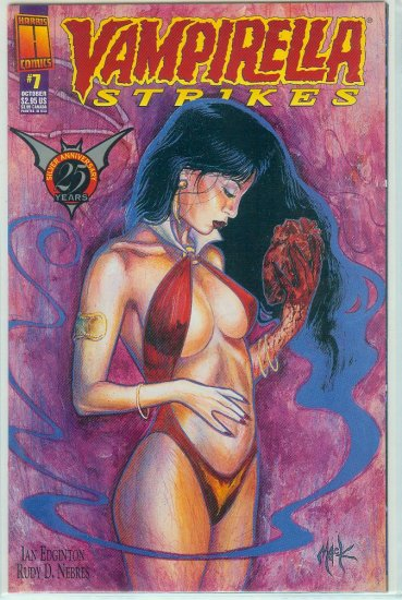 HARRIS COMICS VAMPIRELLA STRIKES  #7 (1996)