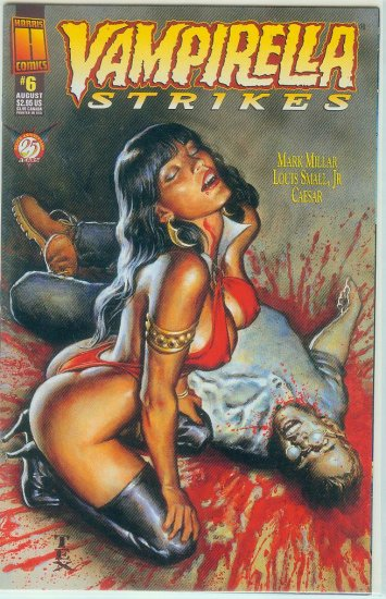 HARRIS COMICS VAMPIRELLA STRIKES  #6 (1996)