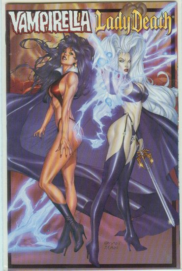HARRIS COMICS VAMPIRELLA/LADY DEATH #1 (1999)