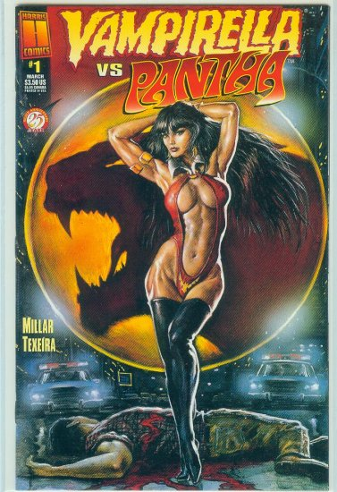 HARRIS COMICS VAMPIRELLA VS PANTHA #1 (1997)