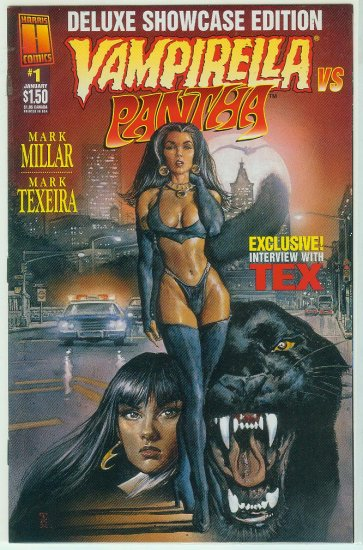 VAMPIRELLA VS PANTHA #1 DELUXE SHOWCASE EDITION (1997)