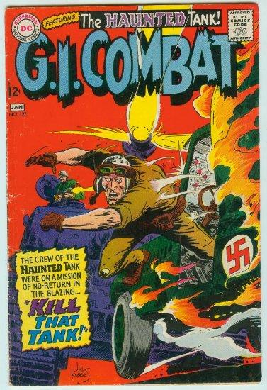 DC COMICS G.I. COMBAT #127 (1967) SILVER AGE