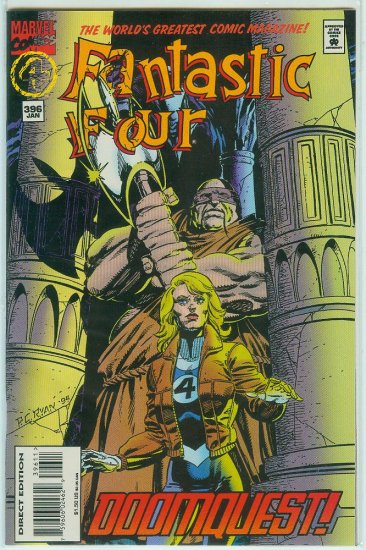 FANTASTIC FOUR #396 (1995)