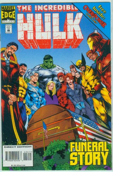 MARVEL COMICS INCREDIBLE HULK #434 (1995)