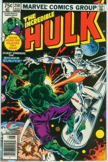 MARVEL COMICS INCREDIBLE HULK #250 (1980)