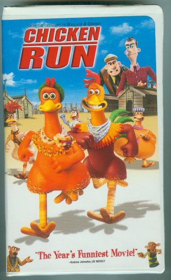 Chicken Run (VHS, Nov 2000)