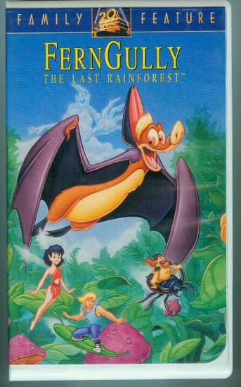 Ferngully: The Last Rainforest (VHS, Aug 1992)