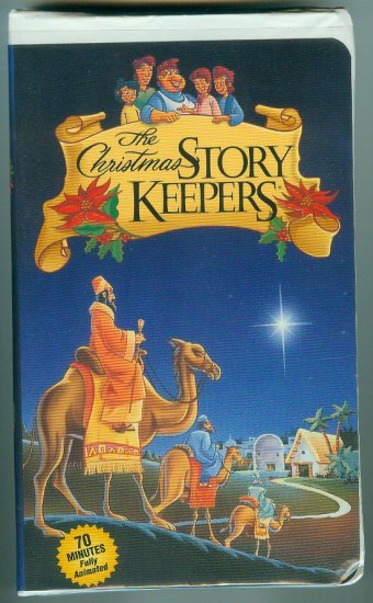 The Christmas Story Keepers (VHS, Sep 2000)